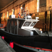 SAAS workboat SeaTestBase Lorient